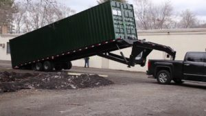 Images For Shipping Container Trailer >> Moving A Shipping Container Container Transport Services